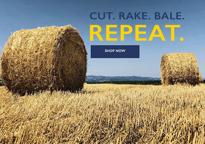 Cut. Rake. Bale. Repeat.